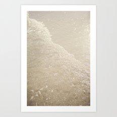 Sparkling Waves Art Print