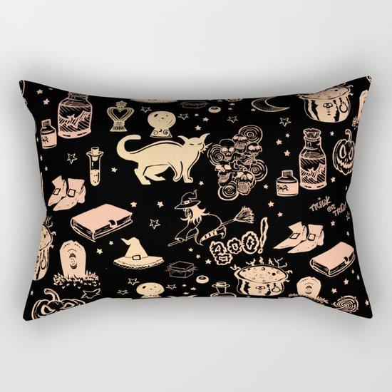 Halloween Print Rectangular Pillow