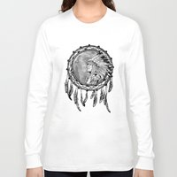 dream catcher Long Sleeve T-shirts featuring Dream Catcher by Astrablink7