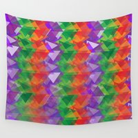 candy Wall Tapestries featuring Candy  by Watch House Design