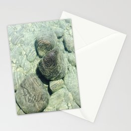 """Peace"" of nature Stationery Cards"