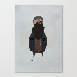 fisherman. Canvas Print