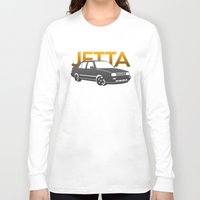 volkswagen Long Sleeve T-shirts featuring Volkswagen Jetta by Vehicle
