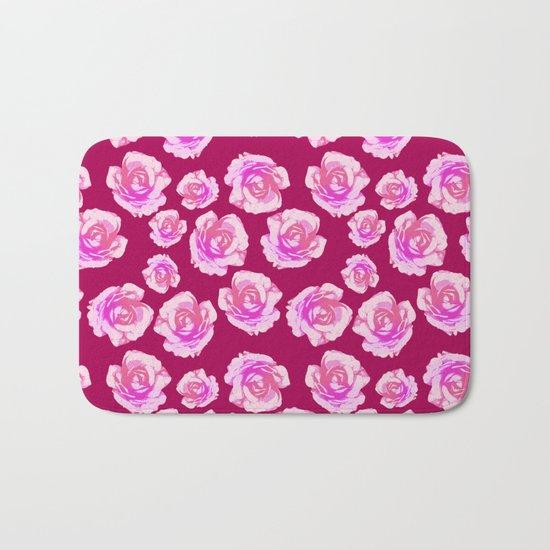 Blushing Roses Bath Mat