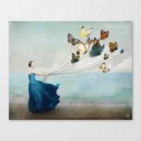 wonderland Canvas Prints featuring Wonderland by Christian Schloe