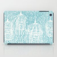 aelwen iPad Cases featuring Hang in there.  by Elena O'Neill