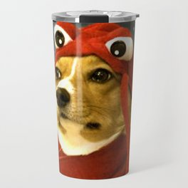 Lobster Corgi Meme Travel Mug