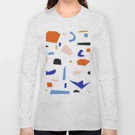 Shapes Pattern Long Sleeve T-shirt