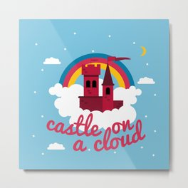 Castle On A Cloud Metal Print
