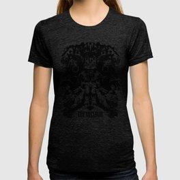 Fox McCloud Star Fox Inspired Geek Psychological Inkblot T-shirt