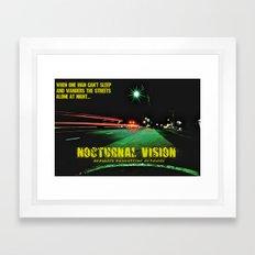Nocturnal Vision  Framed Art Print