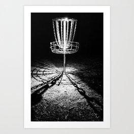 Disc Golf Chains Art Print