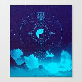 Sacred Geometry (Balance) Canvas Print