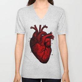 Human Heart Unisex V-Neck
