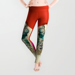 Panthera oculus Leggings