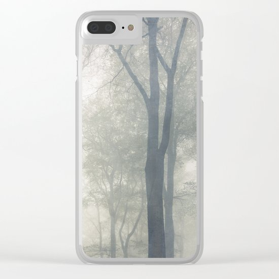 Cathedral of Trees Clear iPhone Case