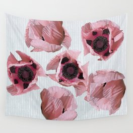 Perfection in a poppy Wall Tapestry