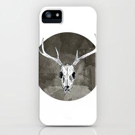 Stag Skull iPhone Case