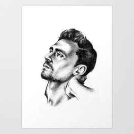 Tom Hiddleston 2 Art Print