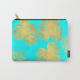 Gold on Jade Carry-All Pouch