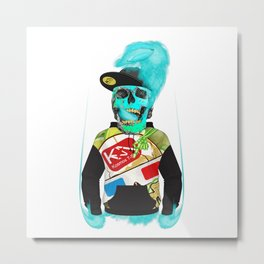 You are a cool guy? cool to the death! Metal Print