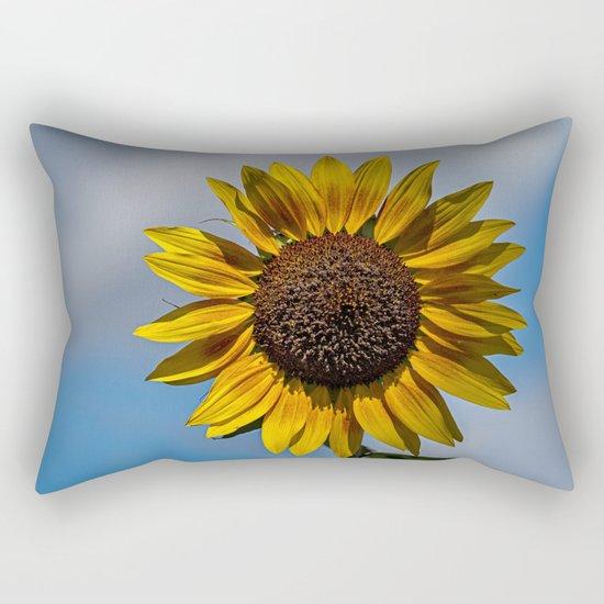 Sun's Flower Rectangular Pillow
