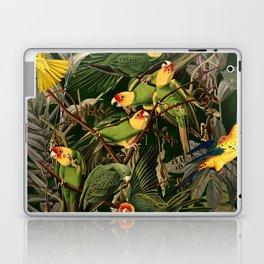 Floral and Birds XXXVI Laptop & iPad Skin