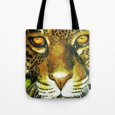 Wildlife Animal Painting - Jaguar Tote Bag