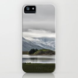 Mountains and Glaciers Iceland iPhone Case
