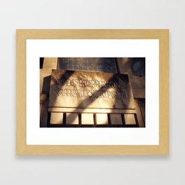 Forest Hill 3 Framed Art Print