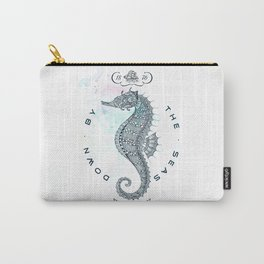 Hippocampus - Salt Club 76 - Down by the Sea Carry-All Pouch
