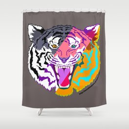 Ultimate Tiger Shower Curtain