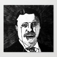 26. Zombie Theodore Roosevelt  Canvas Print