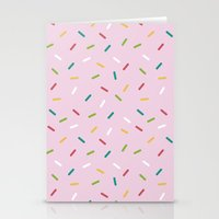 donut Stationery Cards featuring Donut by According to Panda