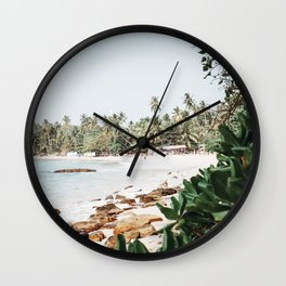 Tropical Island II / Sri Lanka Wall Clock