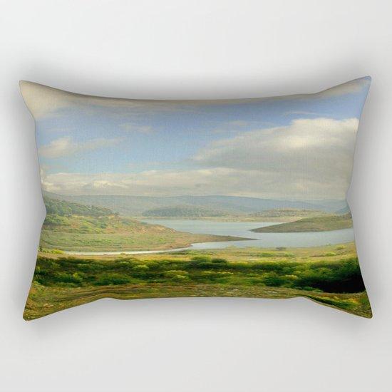 Alpine Ranges Rectangular Pillow