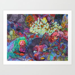 Night Crawlers Art Print