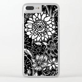 Flower bouquet Clear iPhone Case