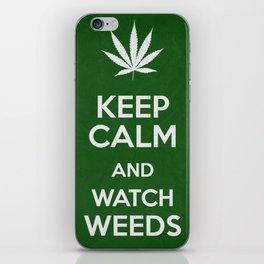 Keep Calm - Weeds iPhone Skin