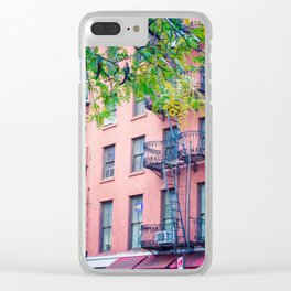 Pearl Street Clear iPhone Case