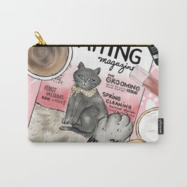 Monday Morning Essentials - featuring Catting Magazine, Spring 2018 Carry-All Pouch