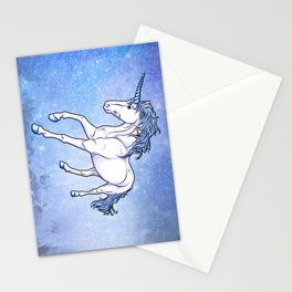 The Unicorn Colored Stationery Cards