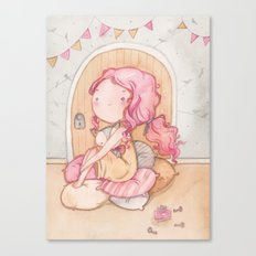 Hobbit Girl Canvas Print
