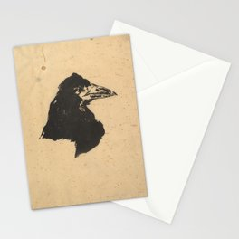 The Raven by Edouard Manet,1875 Stationery Cards