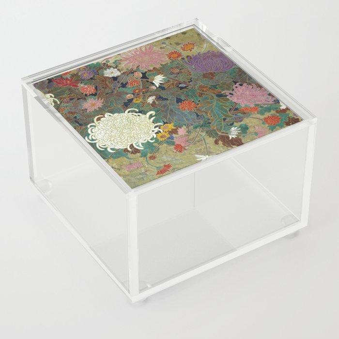 flower【Japanese painting】 Acrylic Box