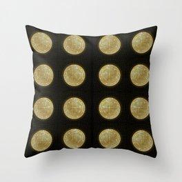 Studio 54- Halston Throw Pillow