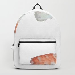 Foodie Happy to Sashimi Funny Sushi Backpack