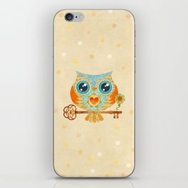 Owl's Summer Love Letters iPhone Skin