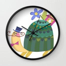 Cute Turtle Wall Clock