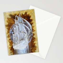 """Man-O-War III"" Stationery Cards"